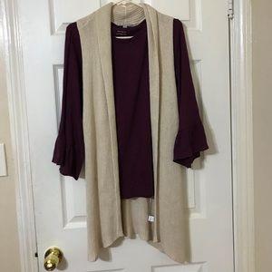 NWOT Gap Sleeveless cardigan